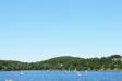 湖と青空の写真素材01