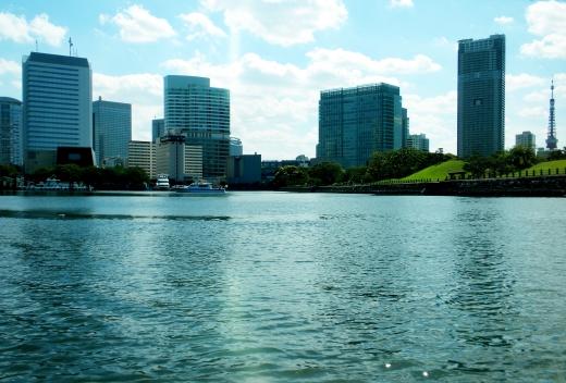 臨海都市・ビルの写真素材01