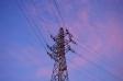 夕暮れ時の鉄塔の写真素材01