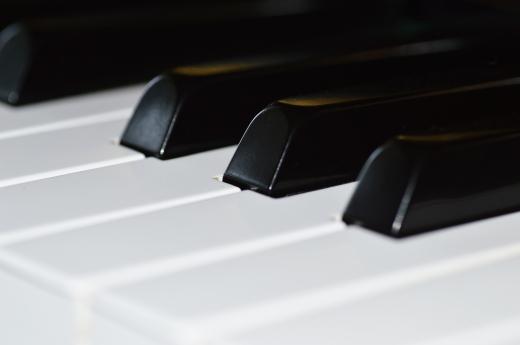 ピアノ鍵盤の写真素材01