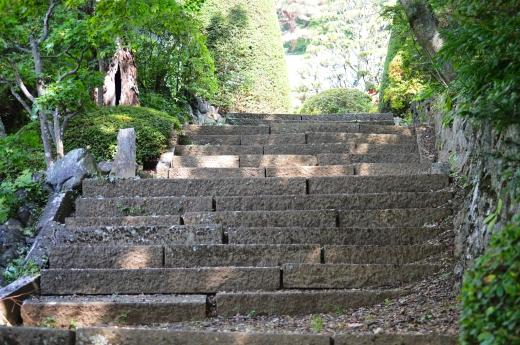 石段の写真素材02