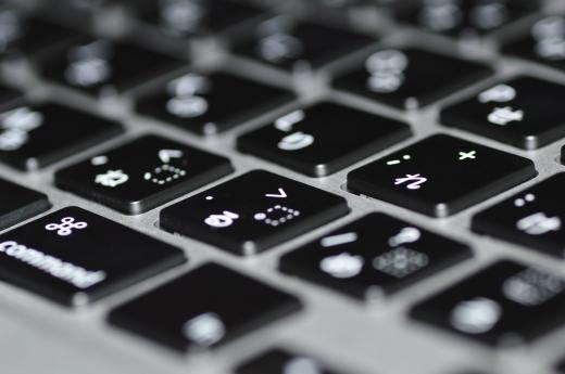 パソコンキーボードの写真素材01