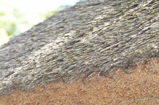茅葺き屋根の写真素材01