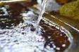 手水舎の水の写真素材02