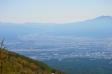 高峰高原からの景色の写真素材01