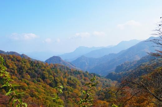 紅葉の山の写真素材02