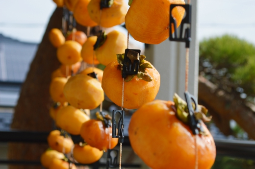 干し柿の写真素材02