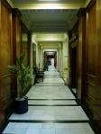 イギリスのオフィス廊下の写真素材
