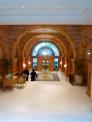 イギリスのホテル入り口の写真素材
