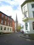 イギリスの街並の写真素材