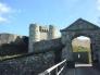 イギリスの古城の写真素材