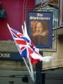 イギリス国旗の写真素材