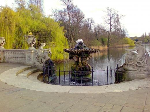 イギリスの公園の写真素材02