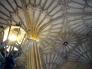 イギリスの建物内の天井模様の写真素材