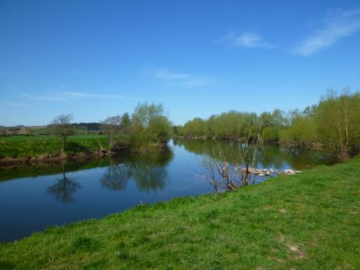 イギリスの川の写真素材01