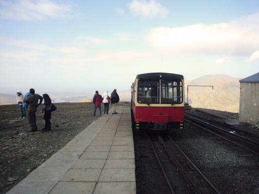 イギリスの電車の写真素材