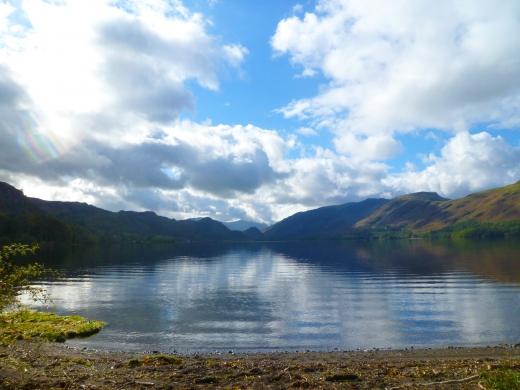 イギリス湖水地方の写真素材