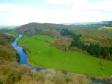 イギリスの田舎風景の写真素材