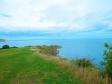 ウェールズの海の写真素材