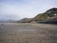 ウェールズの浜辺の写真素材