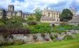 オックスフォードの景色の写真素材