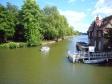 オックスフォードの川の写真素材