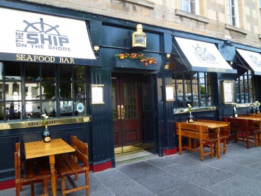 スコットランドのレストランの写真素材