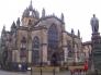 スコットランドの教会の写真素材