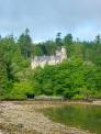 スコットランドの古城の写真素材01