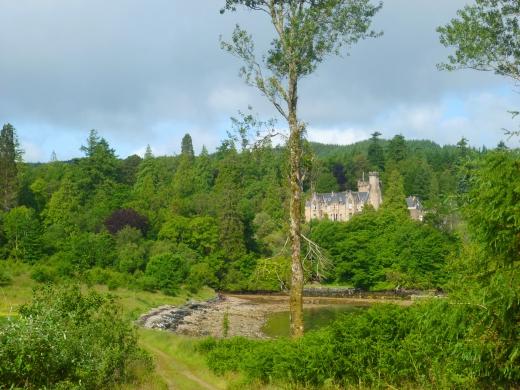 スコットランドの古城の写真素材02