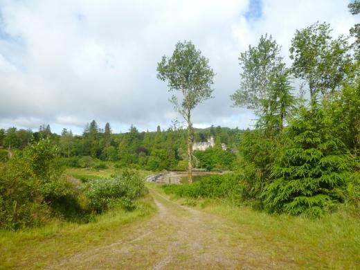 スコットランドの古城の写真素材03