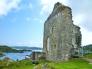 スコットランドの古城の写真素材06
