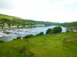 スコットランドの港の写真素材02