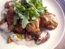 チキンと野菜の煮込み料理の写真素材