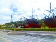 スペインの船の写真素材