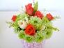 テーブル上の花の写真素材03
