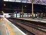 ドイツの駅の写真素材
