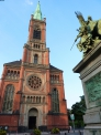 ドイツの教会の写真素材