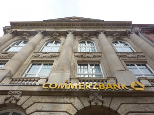 ドイツの銀行の写真素材