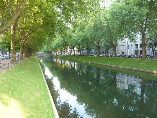 ドイツの川の写真素材02