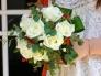バラのブーケの写真素材