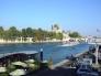 パリのセーヌ川の写真素材