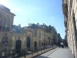 パリの街並みの写真素材