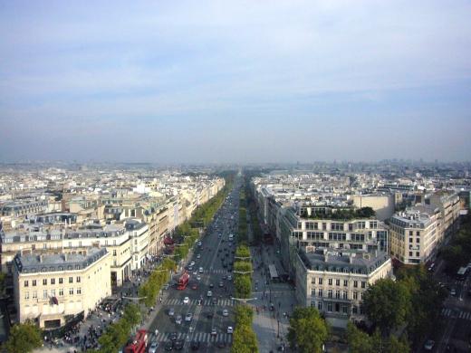 パリの景色の写真素材02