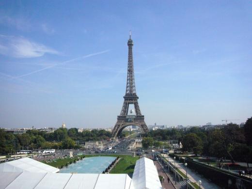 パリの市街地の写真素材02