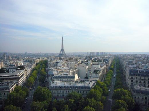 パリの景色の写真素材03