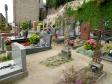 フランスの墓地の写真素材