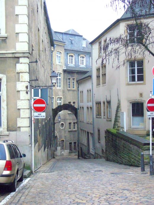 ルクセンブルクの景色の写真素材04