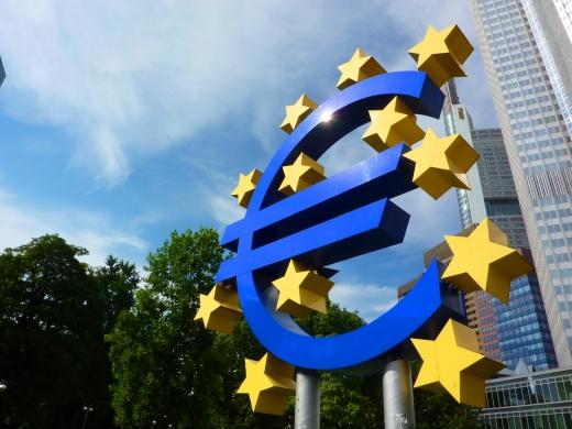ユーロのマークの写真素材01