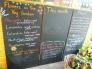 家庭菜園の黒板の写真素材01